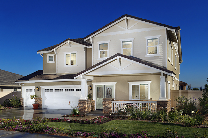 Bella Tierra Model, Crestwood Communities, Upland, CA, 6/20/14.